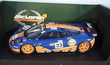 Ut Models 1/18 McLaren f1 GTR LE MANS 1996 Gulf racing en OVP #mwc96