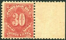 USA-1917-25 Postage Due 30c Carmine No Watermark Perf 11 Sg D535  MOUNTED MINT