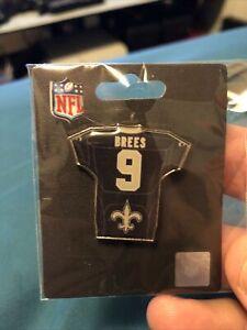 New Orleans Saints Drew Brees Jersey Pin NFL