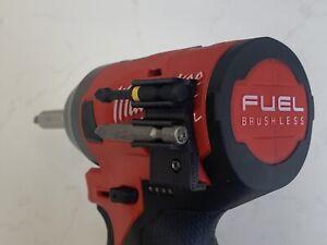 BLACK 🔥 2-Bit Holder Fits Milwaukee M12 Fuel Hex Impact Driver Model 2553-20