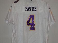 Minnesota Vikings Brett Favre jersey-Throwback Gear-Large-Reebok junior ladies