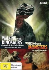 Walking With Dinosaurs / Walking With Monsters (DVD, 2006, 3-Disc Set)