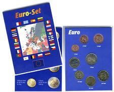 FINLANDIA 2001 - Juego de 8 MONEDAS DE EURO (UNC) - EN CLASIFICADOR MUY RARA