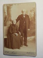 St. Fiden - St. Gallen - altes Paar - Frau im Kleid & Mann im Anzug / KAB