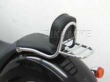 sissy bar en tuyau+coussin+Porte-bagages Honda VT1300 CX fureur