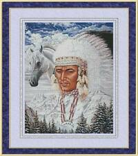 WIND WARRIOR~COUNTED CROSS STITCH PATTERN ONLY