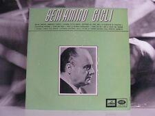 BENIAMINO GIGLI - ANTICHE MELODIE ITALIANE - LP NEAR MINT LAMINATED QELP 8129