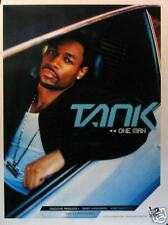 TANK POSTER; ONE MAN (T6)