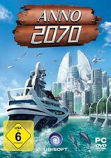 Ubisoft Software Anno 2070 PC DVD Rom Box Game Spiel Welt Städte Multiplayer NEU