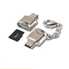 Tipo C Mini lector de tarjeta de memoria Micro Sd Tf Adaptador OTG USB portátil de 3.1 L