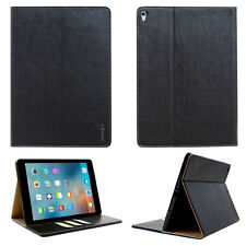 "Luxury Leder Schutzhülle Apple iPad Pro 10,5"" Tablet Tasche Cover Case schwarz"