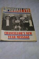 January Private Eye News & General Interest Magazines