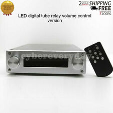 Remote Volume Controller Assembled 4 Inputs LED Digital Tube Relay Version