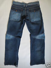 Cult Jeans energia Relaxed Bootcut 33 Zip Fly Denim Blue used Tip Top/j77