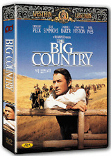 The Big Country (1958) - Gregory Peck DVD *NEW