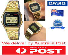 Casio A159W Mens Classic Stainless Steel Digital Watch Vintage Retro