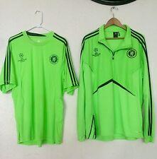 Chelsea Soccer UEFA Champions League Football Club Jacket + Shirt SET 2XL NEW