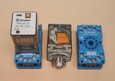 Finder Relais 60.13 230VAC mit Sockel 90.112 (3 Wechsler)
