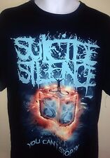 SUICIDE SILENCE YOU CANT STOP ME  2014 LARGE T-SHIRT ROCK DEATHCORE METAL
