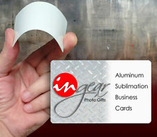 Sublimation Aluminum Business Card Blanks 100 Piece Pack