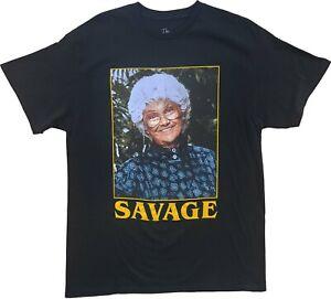 Men's The Golden Girls Sophia Savage Short Sleeve Retro Vintage T-Shirt Tee New