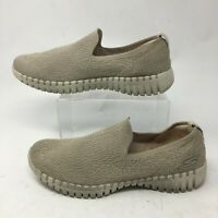 Skechers Goga Mat GoWalk Smart Glory Casual Slip On Shoes Womens 9.5 Knit Beige