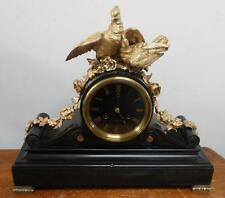 Brass French Antique Mantel & Carriage Clocks (Pre-1900)