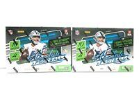 2020 Panini Absolute Football 40 Card Mega Box - Factory Sealed - LOT OF 2