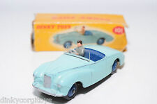 DINKY TOYS 101 SUNBEAM ALPINE SPORTS TURQUOISE EXCELLENT BOXED