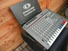 Powermate 600 Dynacord Mischpult Mixer gebraucht mit Deckel