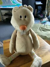 Fluffy Bunny Rabbit Soft Toy. Used. Height 16 ins.