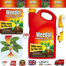Weedol Rootkill Plus Weedkiller Spray Ready to Use 3L Spot Treatment Kills Weeds