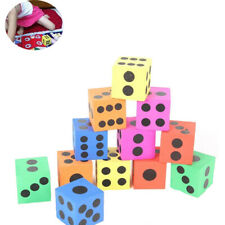 Entertainment Multicolor Baby Toys Learning Resources Foam Dot Dice Soft Maths