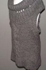 ° COP COPINE °- Pull sans manches gris modèle UMBO TRICOT Taille M