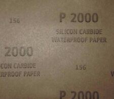 """15Pcs Wet Dry Sandpaper (5.5""""x 9"""")-  2000Grit"""