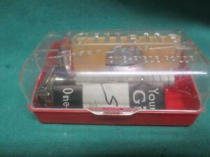 vtg Gillette Super Speed DE Safety Razor w/case