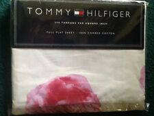 TOMMY HILFIGER PETAL BURST FULL FLAT SHEET