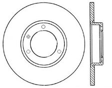 280mm Drilled Slotted Brake Rotor 34325 fit Smart Fortwo 05-15 2 Front Disc