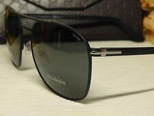 Gucci GG2270FS Navigator Polarized Matte Black Frame Sunglasses 59 19 145**ITALY