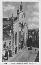 "Lago di Como ""Piazza del Duomo ""2972"" unbeschrieben um 1920 Kleinformat"