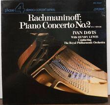 Rachmaninoff: Piano Concerto No 2 in C Minor Ivan Davis 33RPM   111116LLE