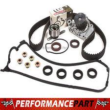 96-00 Honda Del Sol 1.6L D16Y7 Timing Belt Kit Valve Cover Gasket Water Pump