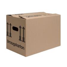 Umzugskartons Karton 2-WELLIG! Doppelter Boden und Griffe, top! 40 Kg Movebox