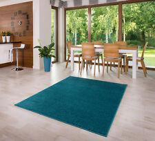 Teppich Kurzflor Einfarbig Muster Beige Camel Grau Blau 80 120 140 160 200_L3