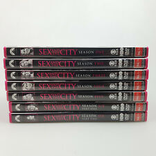 Sex And The City DVD Box Set Seasons 1 To 6 In Cases PAL Set Collection SATC