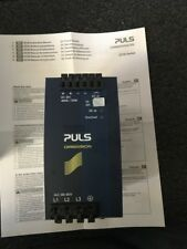 PULS POWER SUPPLY QT20.361 3AC 380-480V DC36-42V 13.1-11.4A 480W USED