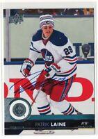 17/18 Upper Deck Patrik Laine #198 Autograph Signed [Winnipeg Jets]
