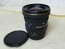 Tokina 20 - 35mm F2.8 ATX pro lens F&R aspherical at-x wide . Nikon AF fit ais r