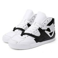 Mens Lace Up Basketball Sneaker High Top Board Athletic Running Sport Shoes ZHOU