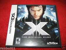 X-Men: The Official Game  (Nintendo DS, DSI, 2DS, 3DS, NDS 2006) Video Game